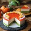 柿のムースケーキ