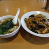 炒め物が美味しい町中華で茄子飯を食べました。 @一宮 萬龍