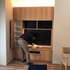壁面収納の設置