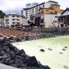 【軽井沢からちょこっと草津へ】湯畑は楽しいなー!