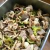豚肉とゴーヤの黒酢炒め