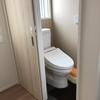 0.75畳のトイレはやはり狭かった (web内覧会) 一条工務店 i-Smart