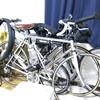 真冬のサイクリング