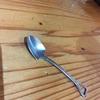 スコップの形のスプーンが可愛すぎて持ち帰りたい☆