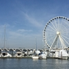 閑散としたNational Harbor