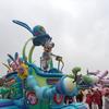東京ディズニーランドのうさたま大脱走をJALの特別鑑賞エリアから見たかったのですが。。。