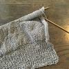 くつした編み、もうひとふんばり~!
