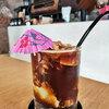 ココナッツコーヒー@Sarnies Bangkok