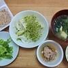 【身体に良いを意識した食事】休日のシンプル朝ごはんと昼ごはんを公開