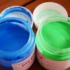 ネットで購入するシルクスクリーン印刷のインクの色が分かりにくい!DYE COLOR(ダイカラー)編 「ファンシーブルー・ライトグリーン」