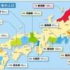 明治時代の都道府県人口分布が理想的すぎる