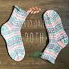 ゴッホの靴下を編みました その4