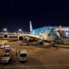 機内からワクワク!全日空のハワイ路線限定Airbus A380型機 超大型旅客機Flying HONUの「海」(KAI)に乗りました。