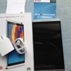 タブレット端末と格安SIM到着