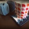 【ネット編み】に挑戦 ズパゲッティや100均Tシャツヤーンで作るコースター① プラスチックキャンバス編み方と材料