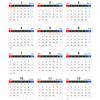Japanese Calendar, 2017