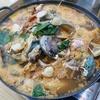済州島(チェジュ島)グルメ #新鮮な魚介がたっぷりの海鮮鍋「スンビナリ」