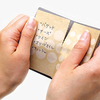 珍しい連続帳票のメモ帳「accordion memo」