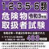 ≪危険物取扱者試験≫ 令和3年上期 神奈川県実施の試験日程決定!!