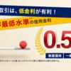 野村証券が信用金利を0.5%にまで引き下げ。ネット証券より有利?