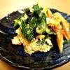 『ちくわと青菜のマヨポン卵とじ』余りがちな竹輪でもう一品♪