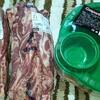 私いつもBBQの肉担当です。肉担!(≧▽≦)