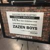 ZAZEN BOYS TOUR MATSURI SESSION@名古屋 CLUB QUATTRO(2019.12.3)感想