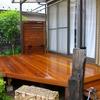 最新の施工例5月26日 針葉樹が腐りました