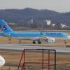 大韓航空の新型機CシリーズCS300に乗りに行ったらトラブル続出で帰国できなくなりました。