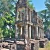 「プリア・カン(Preah Khan)」~ギリシア神殿のような「聖なる剣」の名の仏教寺院!!