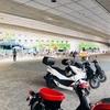 さぁー甲子園です。いつもの様にバイクで来ました❣️