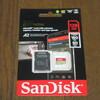 【GoPro hero8】 注文最後の品、128GBmicroSDカードが届く