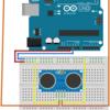 Arduinoで超音波距離センサを使ってみました