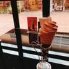 神戸モザイクで生チョコソフトを食べてきた