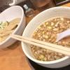 【大阪難波】あっさり食べやすい、もつ入りの美味しいつけ麺🍜『清麺屋』