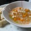 【 娘ご飯 】『ミルクトーストと野菜スープ』と『親子丼』