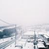 2月6日、北斎の雪景色