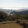 ランで桑谷山展望台へ