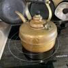 銅製ケトル 磨き