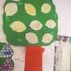 フルーツ塗って木に貼って!~ジンバブエの小学校で塗り絵だけの図工からの脱却作戦!~【図工レシピ】