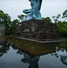 カメラを持って平和公園を散歩しつつ…Ingress!!