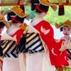 京都・祇園甲部 - 祇園祭*花傘巡行 雀踊り