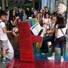 シンガポール街歩き#175(ストリート・ピアノ)