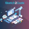 手描きの絵からHTMLコードを作ってくれる「Sketch 2 Code」