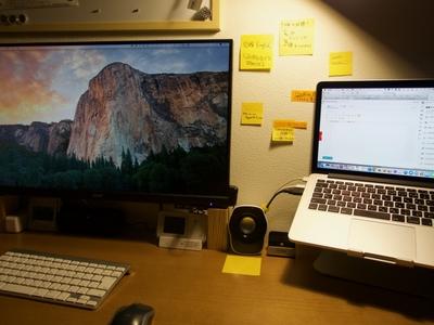 【クラムシェル】結構便利!?MacBookProクラムシェル利用状況