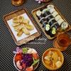 【和食】お刺身を使わない海苔巻4種類/4 Kinds of Rolled Sushi without Sashimi