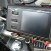 MOTO GPS RADAR 4の純正マウントが微妙なので代替品を付けてみた