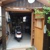 バイク小屋の増築完了