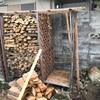 薪ストーブカンブリア紀⑩ 薪棚の修復・薪運び