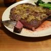 厚切りステーキ肉と飽和脂肪酸
